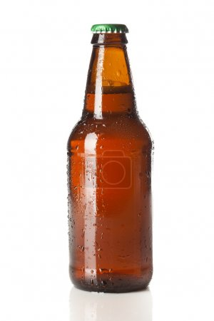 Photo for Refreshing Ice Cold Beer against a background - Royalty Free Image