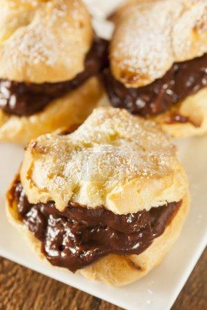 Homemade Chocolate Cream Puffs
