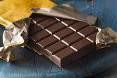 Organické tmavě čokoládové bonbóny bar