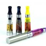Electronic cigarette (e-cigarette) isolated...