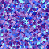 Abstract geometric colorful seamless pattern in blue, vector