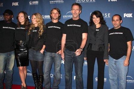 House Cast (Omar Epps, Olivia WIlde, Jennifer Morr...