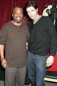 Levar Burton and Billy Wirth
