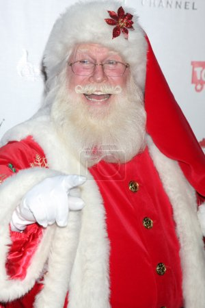 Photo for LOS ANGELES - NOV 22: Santa Claus at the 2011 Hollywood Christmas Parade Concert at Universal Citywalk on November 22, 2011 in Los Angeles, CA - Royalty Free Image