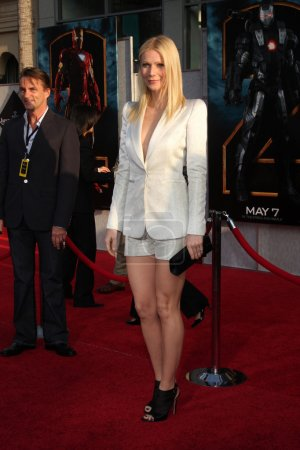 """Photo for Gwyneth Paltrow arrives at the """"Iron Man 2"""" Premiere at El Capitan Theater in Los Angeles, CA on April 26, 2010 - Royalty Free Image"""