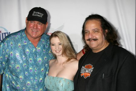 Dennis Hoff, Sunny Lane, and Ron Jeremy
