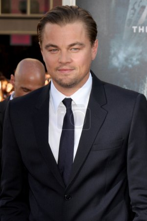 Photo for LOS ANGELES - JUL 13: Leonardo DiCaprio arrives at the Inception Premiere at Grauman's Chinese Theater on July 13, 2010 in Los Angeles, CA - Royalty Free Image