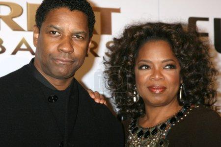 Denzel Washington Oprah Winfrey