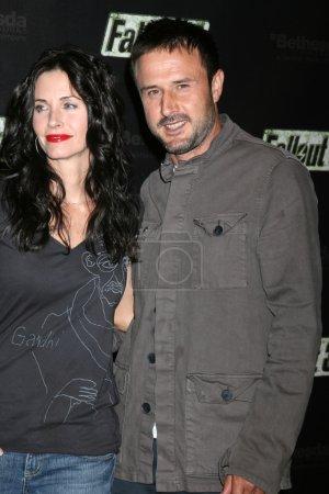 Courteney Cox and David Arquette
