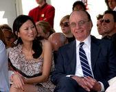 Rupert Murdoch & wife Wendi Deng