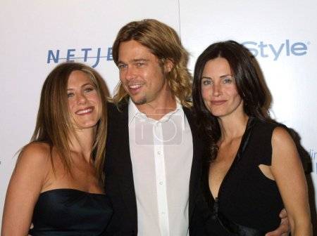 Jennifer Aniston, Brad Pitt, Courtney Cox
