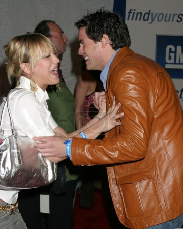 Kaley Cuoco and Jared Lowenstein