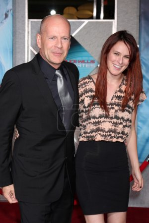 Bruce Willis Rumer Willis