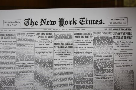 Newspaper from Birth Day in