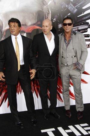 Sylvester Stallone Bruce Willis Mickey