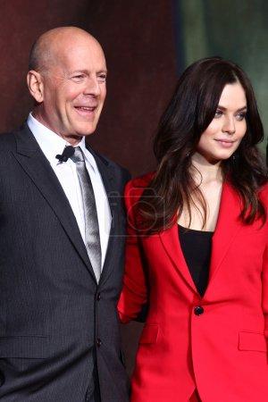 Bruce Willis Yuliya Snigir