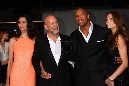 Emma Heming Bruce Willis Dwayne