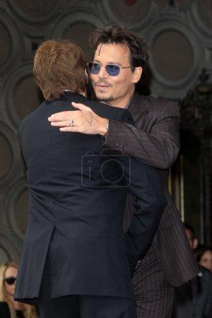 Jerry Bruckheimer Johnny Depp