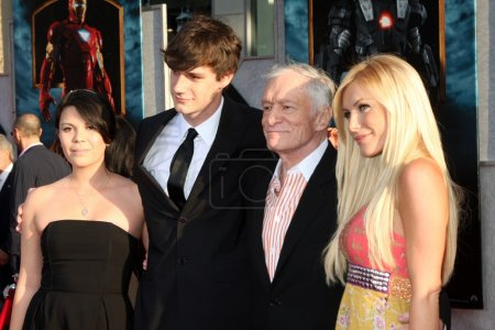 Hugh Hefner Family