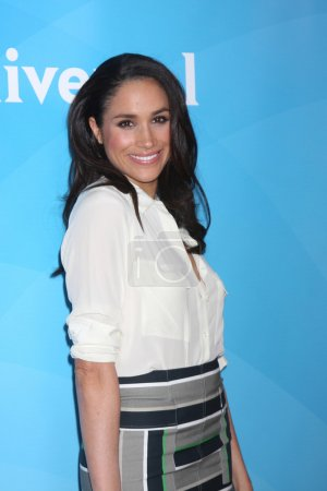 Photo pour LOS ANGELES - JAN 19 : Meghan Markle au NBC TCA Winter 2014 Press Tour au Langham Huntington Hotel le 19 janvier 2014 à Pasadena, CA - image libre de droit