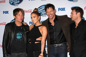 Keith Urban, Jennifer Lopez, Harry Connick Jr, Ryan Seacrest