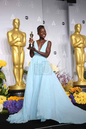 LOS ANGELES - MAR 2:  Lupita Nyong'o at the 86th Academy Awards, Oscar at Dolby Theater, Hollywood & Highland on March 2, 2014 in Los Angeles, CA