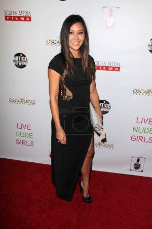 """Photo pour LOS ANGELES - 12 AOÛT : Mira Carr à la """"Live Nude Girls"""" Los Angeles Premiere à Avalon le 12 août 2014 à Los Angeles, CA - image libre de droit"""