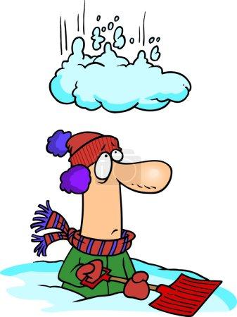 Cartoon Snow Dump