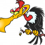 Cartoon Buzzard...