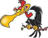 Cartoon Buzzard
