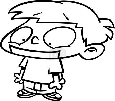 Cartoon Boy Gagged