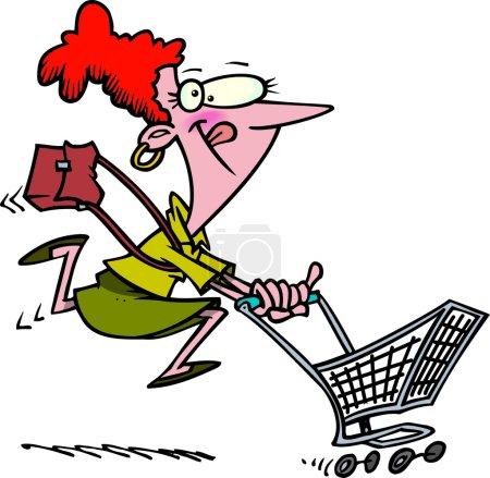Cartoon Power Shopper