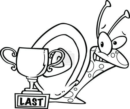Cartoon Snail Trophy
