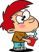 Cartoon Boy Slurp
