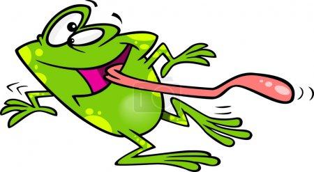 Cartoon Frog Dancing