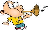 Cartoon Bugle Boy