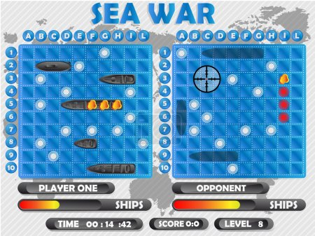 SEA WAR GAME