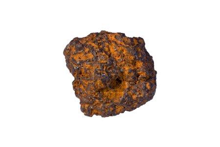 Iron ore containing iron-bearing mineral goethite...
