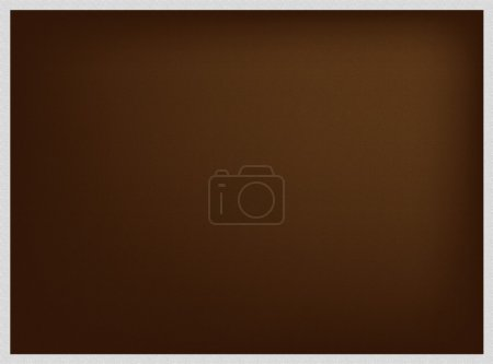 Photo for Abstract Luxury Brown Background with A Grey Border Frame with Copy Space for Text Decorated - Royalty Free Image