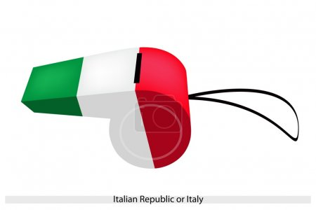 A Whistle of The Italian Republic or Italy