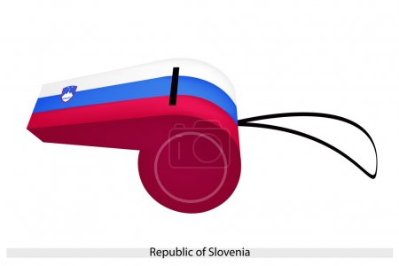 A Whistle of The Republic of Slovenia