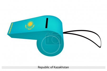 A Whistle of The Republic of Kazakhstan