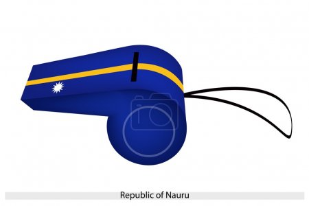 A Whistle of The Republic of Nauru