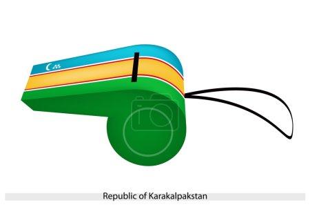 A Whistle of The Republic of Karakalpakstan