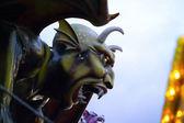 Devil Sculpture Dante's Inferno Coney Island