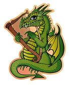 Dragon the minstrel