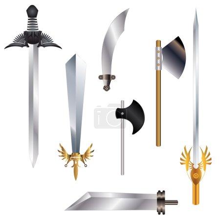 Swords set...