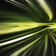 Fast motion in abstract three dimensional space st...