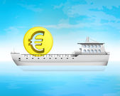 Euro coin cargo business