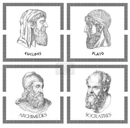 Ancient greek scientists, philosophers